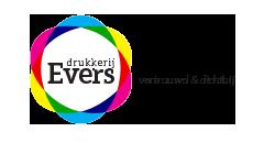 logo drukkerij Evers